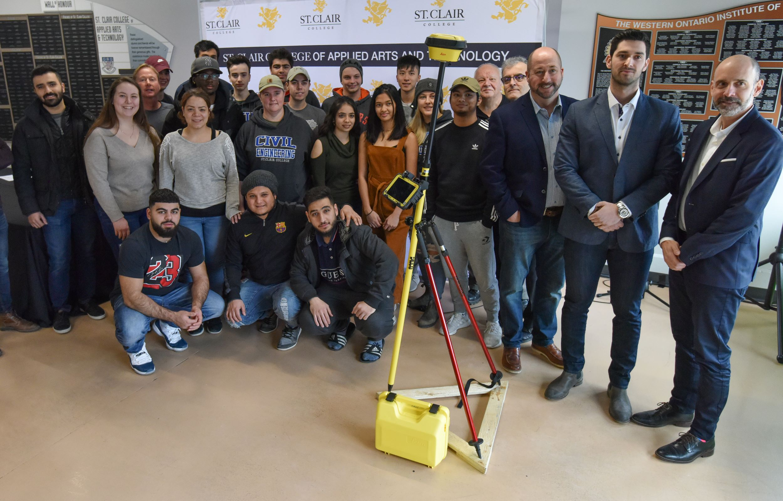St Clair Engineering Technology Students Given Competitive Advantage St Clair College