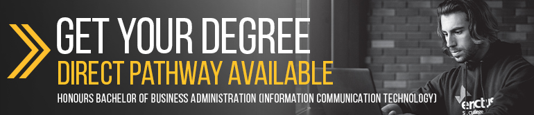 Get your degree. Direct pathway available.