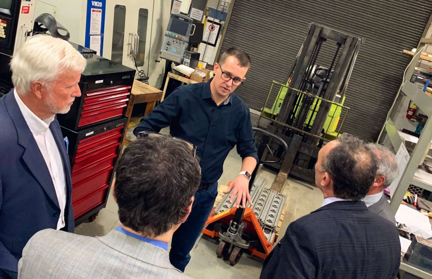 Ontario Minister Of Labour Training And Skills Development Tours Skilled Trades Regional Training Centre St Clair College