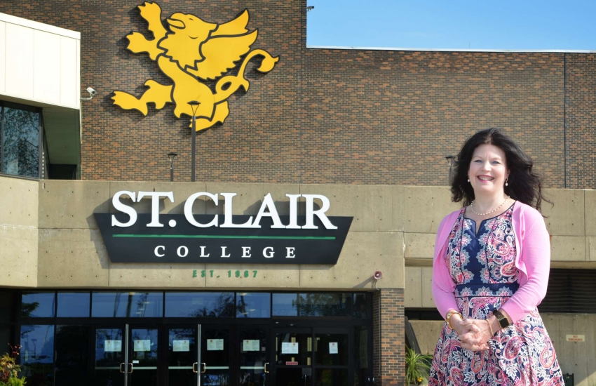 St. Clair College is one of 24 colleges across Ontario calling for a new provincial strategy for post-secondary education.
