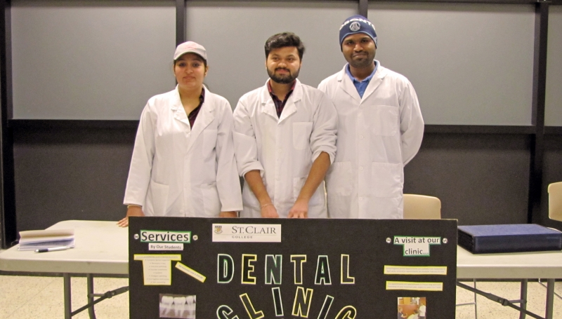 Dental Clinic booth