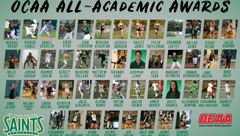 An astounding one-third of its varsity athletes are being recognized.