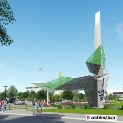 Architectural rendering of the new SportsPark
